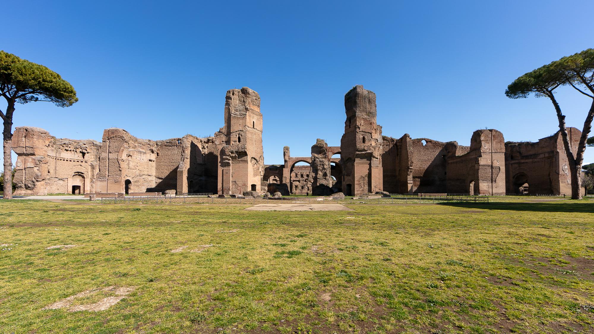 Terme Di Caracalla Riapre L Oasi Di Bellezza Nel Cuore Di Roma Soprintendenza Speciale Archeologia Belle Arti E Paesaggio Di Roma