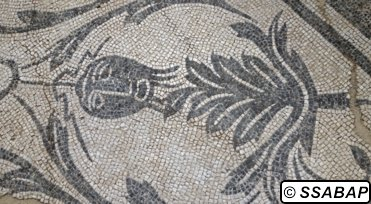 Archaeological Precinct of the Holy Cross in Jerusalem Mosaic