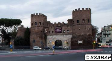 Museo della via Ostiense - Porta San Paolo